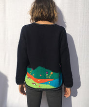 Load image into Gallery viewer, CARDIGAN HANDMADE NAIF EMBROIDERY  pre-order