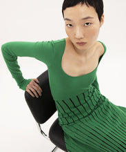 Load image into Gallery viewer, EMERALD LONG SLEEVES DRESS pre-order