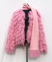 Load image into Gallery viewer, ECO FUR PINK SCARF COLLAR