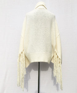 "OVER WHITE SWEATER ""FRIGES"""