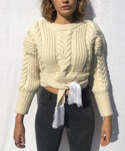 "Load image into Gallery viewer, ""CANDY ""SWEATER CABLES HANDMADE pre-order"