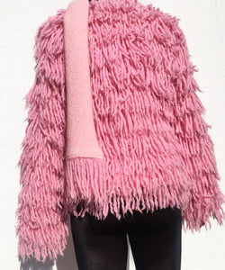 ECO FUR PINK SCARF COLLAR
