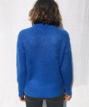 Load image into Gallery viewer, CASUAL CREWNECK MOHAIR SWEATER