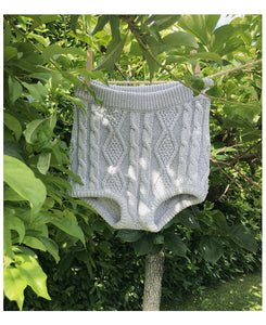 CULOTTE KNITWEAR IN SILVER LAME'