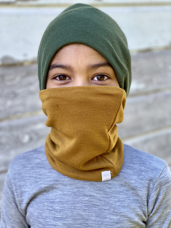 Neck Warmer - COMING SOON CHILDREN UP TO AGE 12 Simply Merino Clothing Co