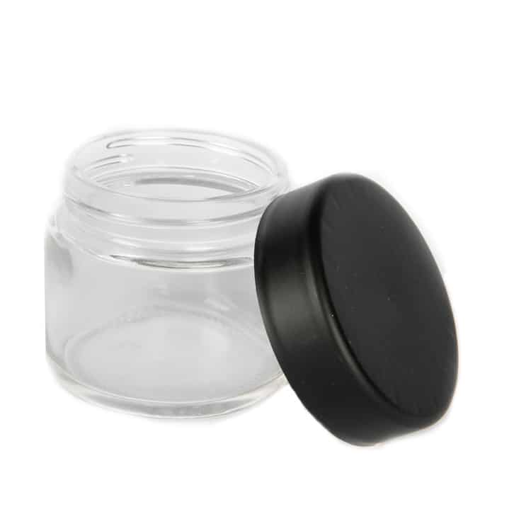 2 OZ Glass Jar with Child Resistant Lid - CORONA CASH AND CARRY