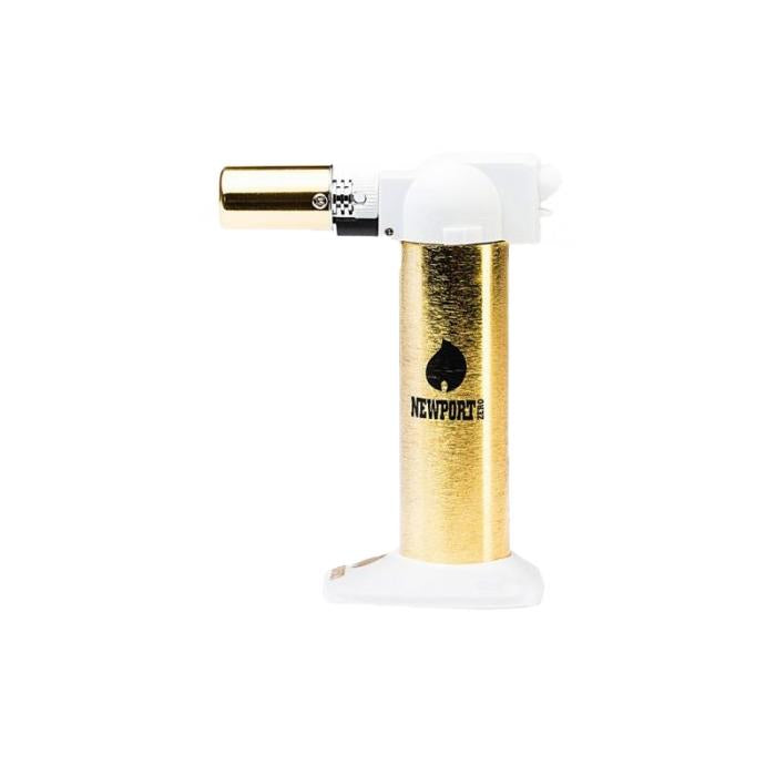 "6"" Regular Torch - Gold White - CORONA CASH AND CARRY"
