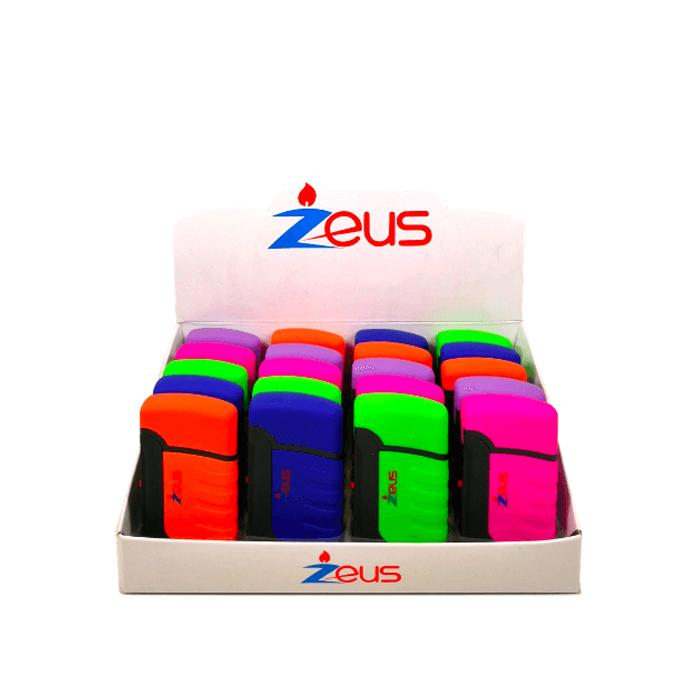 Zeus Torch Lighter Refillable Butane (20 units) - CORONA CASH AND CARRY