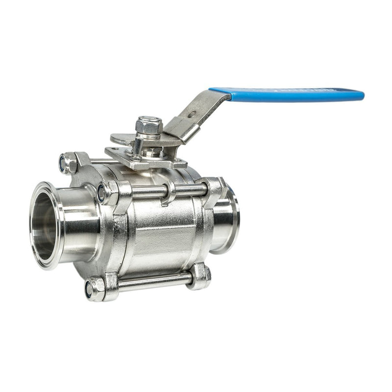 Stainless Steel Sanitary Tri-Clamp Ball Valves - CORONA CASH AND CARRY