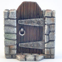 Dungeon Wooden Door