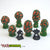 Evil Fungi Mushroom Forest (Set of 6)