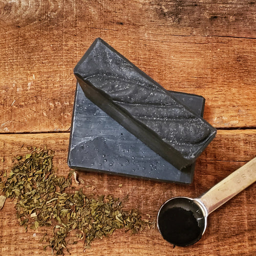 DETOX ESSENTIAL OIL SOAP WITH ACTIVATED CHARCOAL