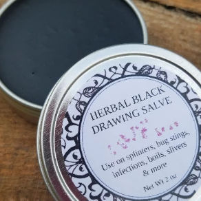 Herbal black drawing salve may be one of the best options when it comes to healing. Herbal black drawing salve is a blend of ingredients that create an ointment used topically to help heal skin inflammation, boils, insect bites and splinters.