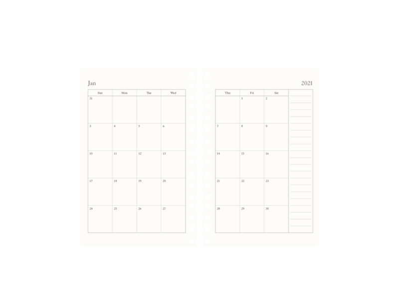 2021 Planner 120gsm (120pg)