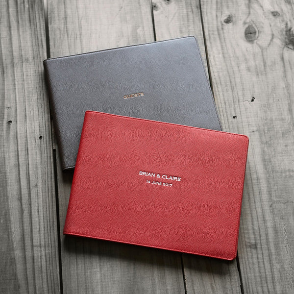 Guest Book Jacket Set
