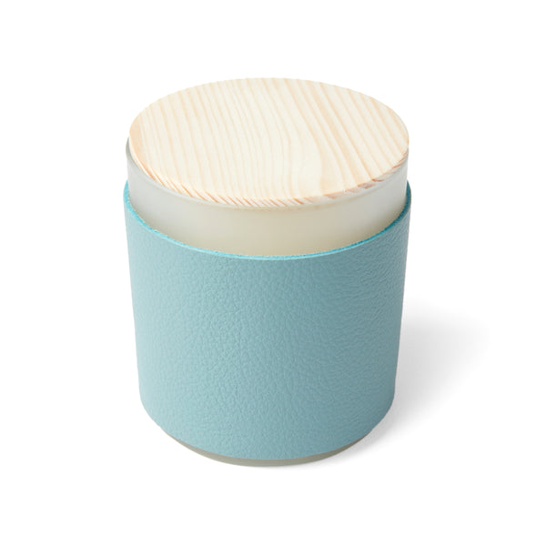 Scented Candle with Leather Sleeve
