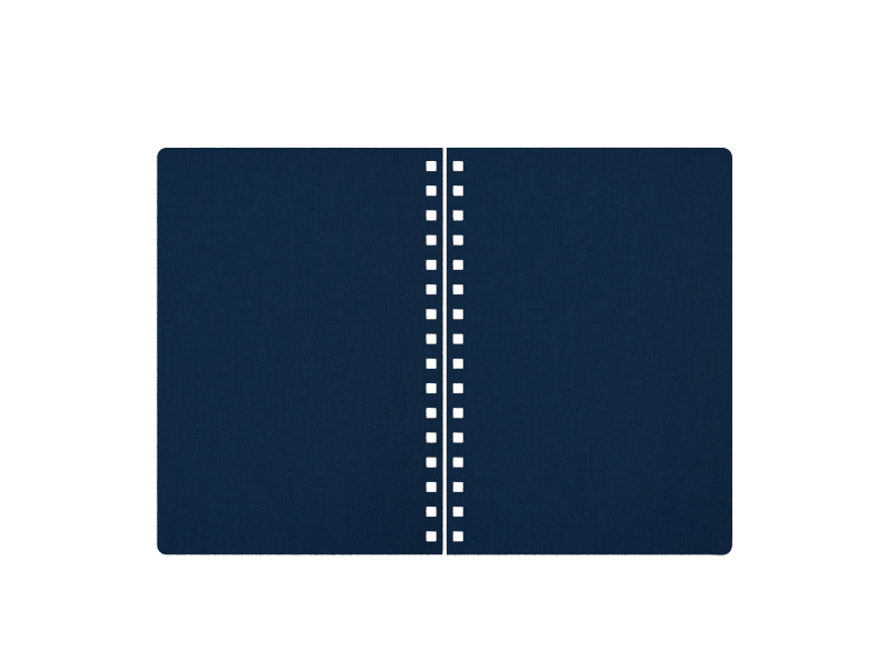 Canvas Prussian Blue-2