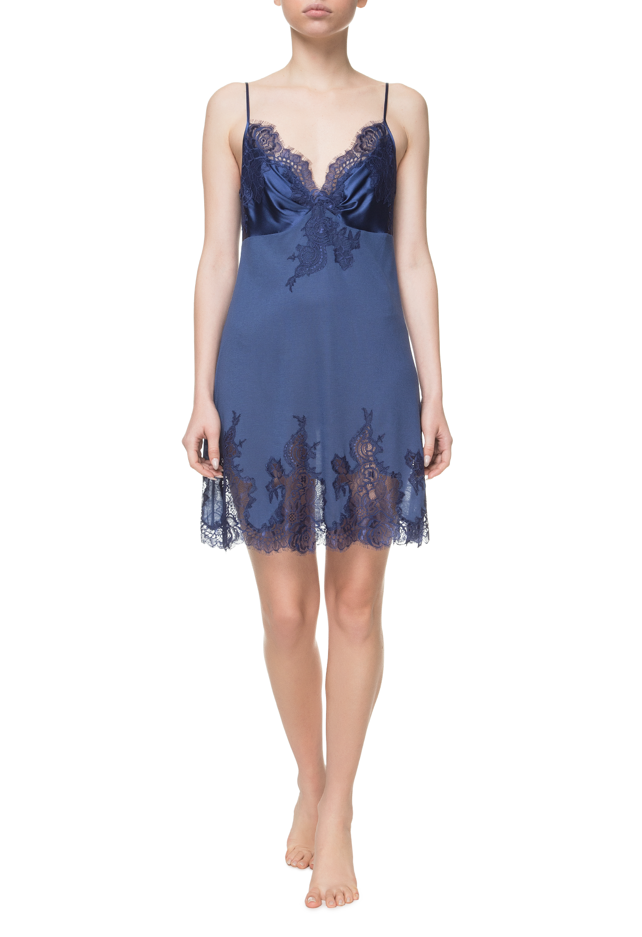 Ночная сорочка Suavite lace-night-dress-slp73-19-blu-noella-w