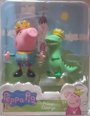 Princess Candy Cat /& Prince George Peppa Pig Figures