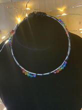 Load image into Gallery viewer, Rainbow Guitar String Bangle Bracelet