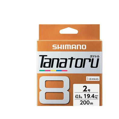 SHIMANO Tanatoru 8 Braided Fishing Line PE 150M/250/300M Multi Color Braid Lines Lake River Fishing Wire Smoother Floating Line