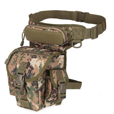 Fly Fishing Bag On The Leg Belt Waist Runing Sport Camping Hiking Bag Waterproof Oxford Reel Pack Option Lure Tackle Trays