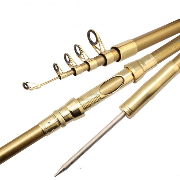 GOLDEN Telescopic Fishing Rod