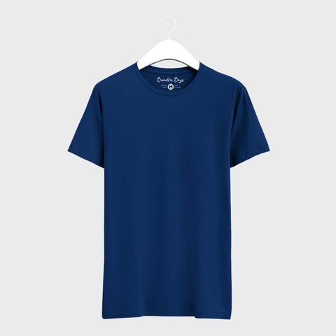 Blue Plain T-Shirts