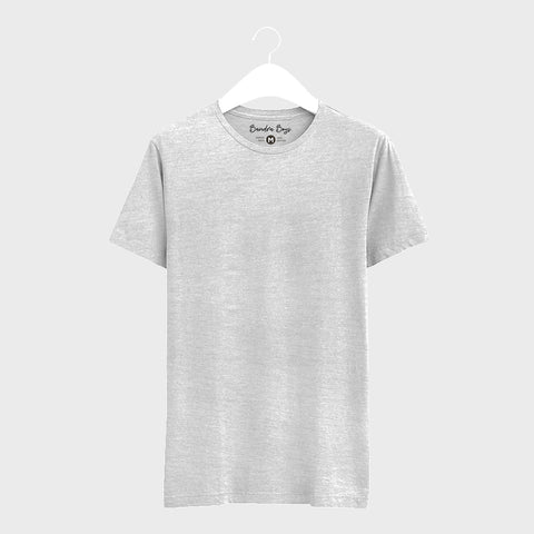 Grey Plain T-Shirts