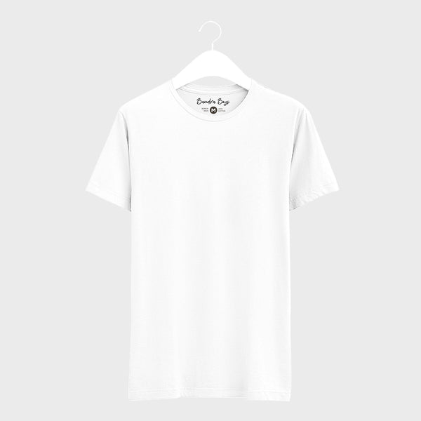 White Plain T-Shirts