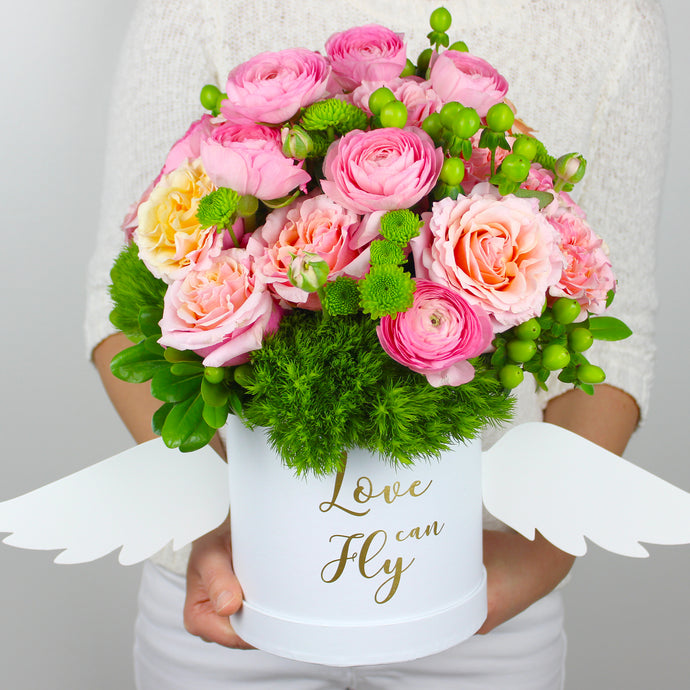 Love Can Fly Flower Arrangement