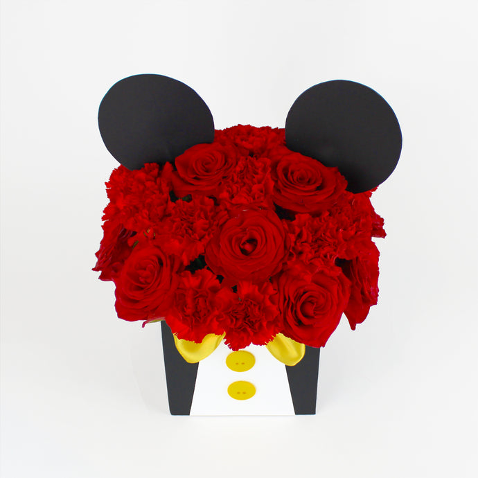 Mickey Mouse Flower Box