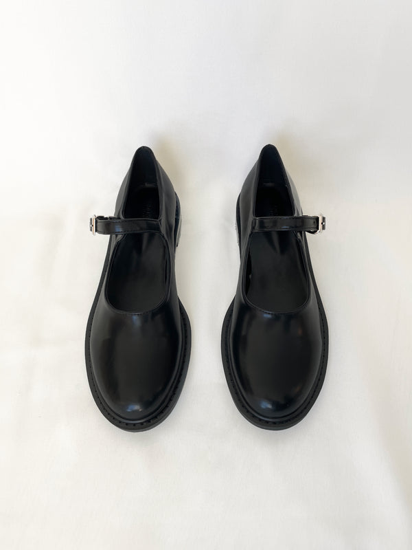 Round Toe Mary Jane Shoes