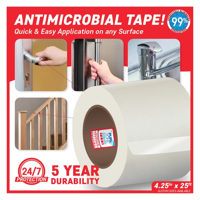 PureZone® Antimicrobial Protection Tape 4.25in X 25ft