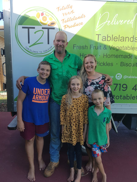 Tablelands to Tabletop the Nason Family Produce Delivery Service