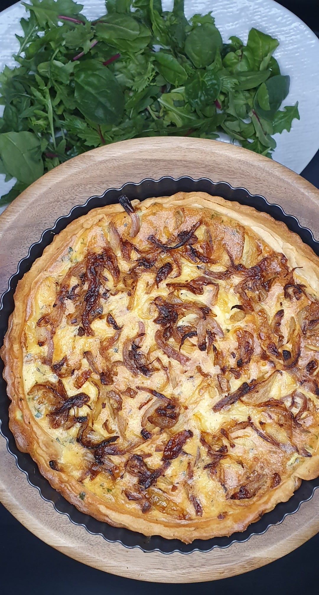 Caramelised Onion Quiche by Kathryn our T2T Food Blogger