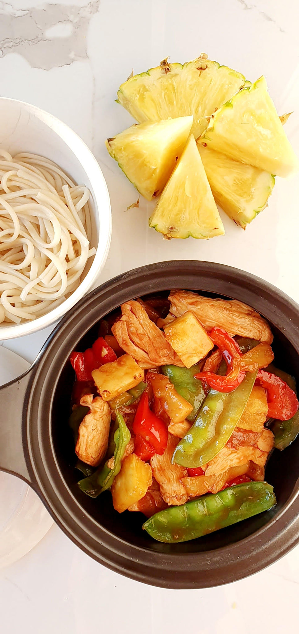 Sweet & Sour Chicken T2T Food Blogger Kathryn Tablelands to Tabletop Recipes