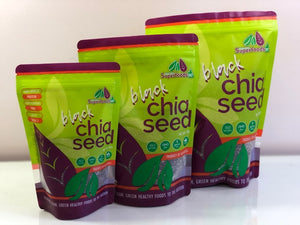 Chia Seeds - Black & White WS