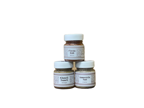 Set of 3 bestseller spices from Sana Sayulita