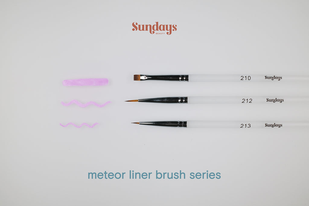 Sundays Beauty Meteor Liner Brush Series