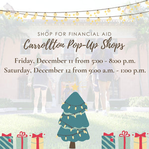 Carrollton Pop Up Shop - Shop For Financial Aid