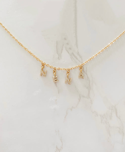 """Olivia"" Letter Necklace"