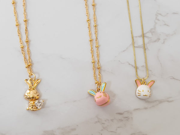"""Cottontail"" Necklace"