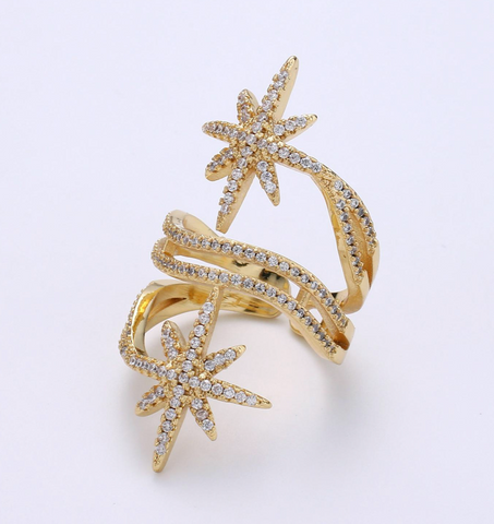 """Star Light"" Ring"