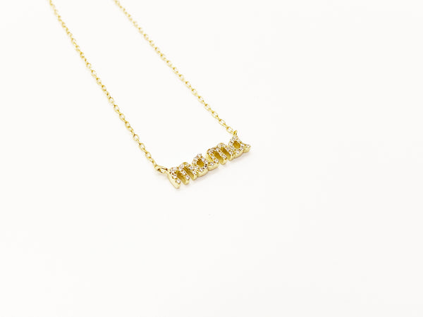 """Mama"" Necklace"