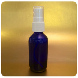 60ml Cobalt Blue Bottle, Spray