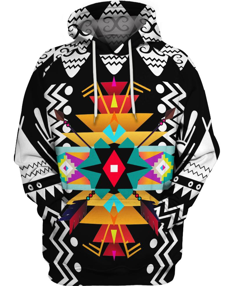 Native American Multi-color Symmetrical
