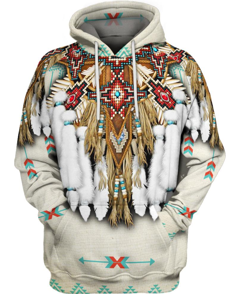 Native American Feathers Motif