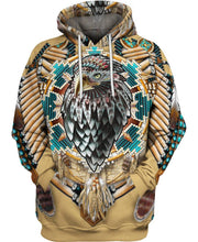 Load image into Gallery viewer, Native American Shaman Eagle