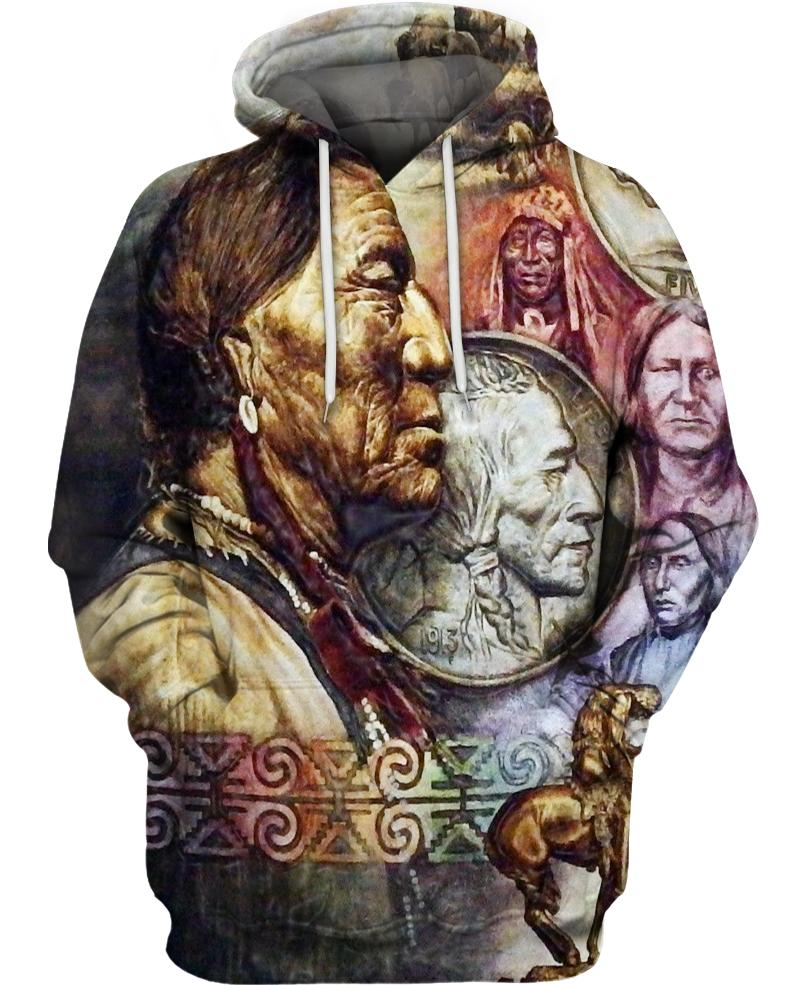 Native American Indian Chiefs Art Carving